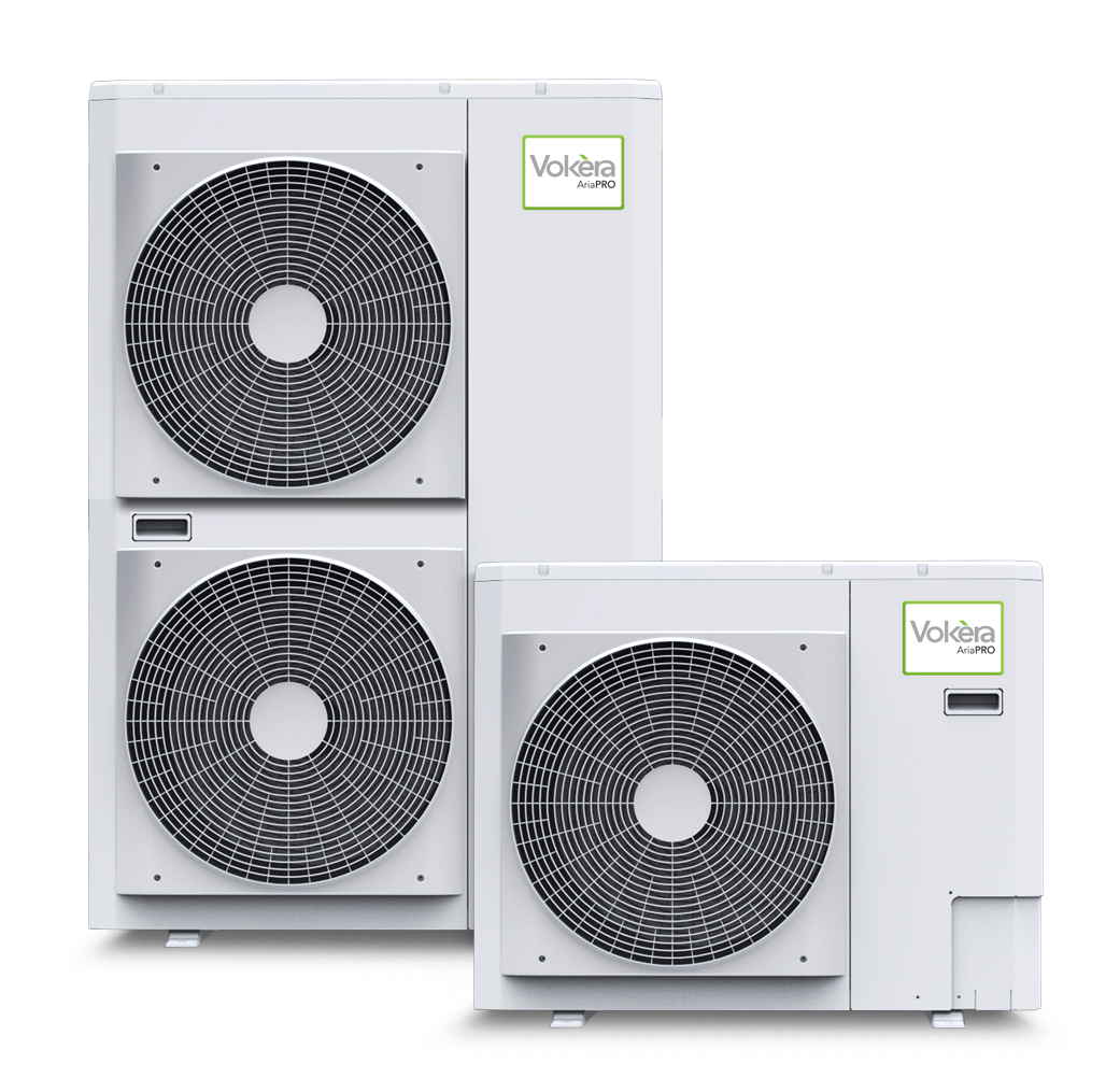 picture of aria air source heat pump