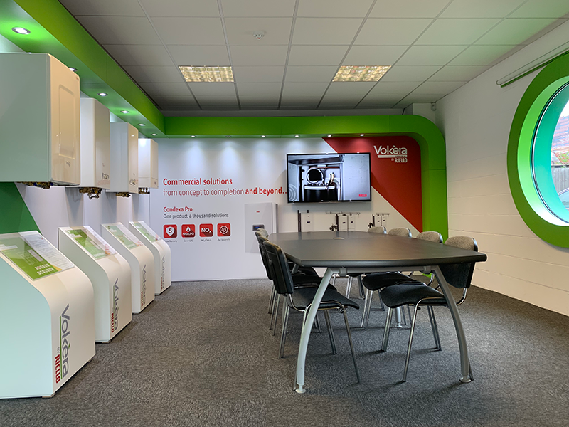 VOKÈRA BY RIELLO OPENS NEW SHOWROOM IN LONDON COLNEY TRAINING CENTRE
